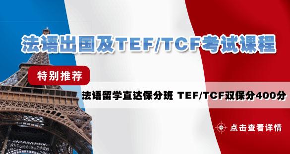 法语出国及TEF-TCF考试课程